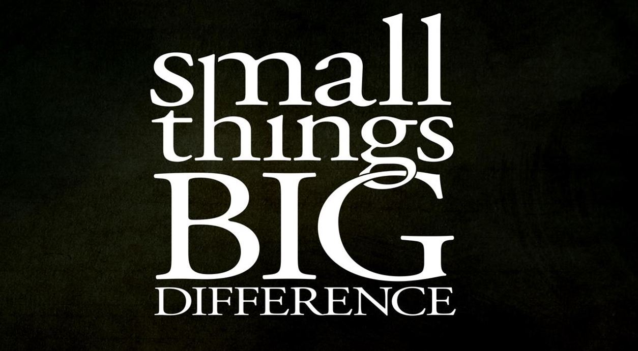 Habits – Small Things Big Difference Part 4