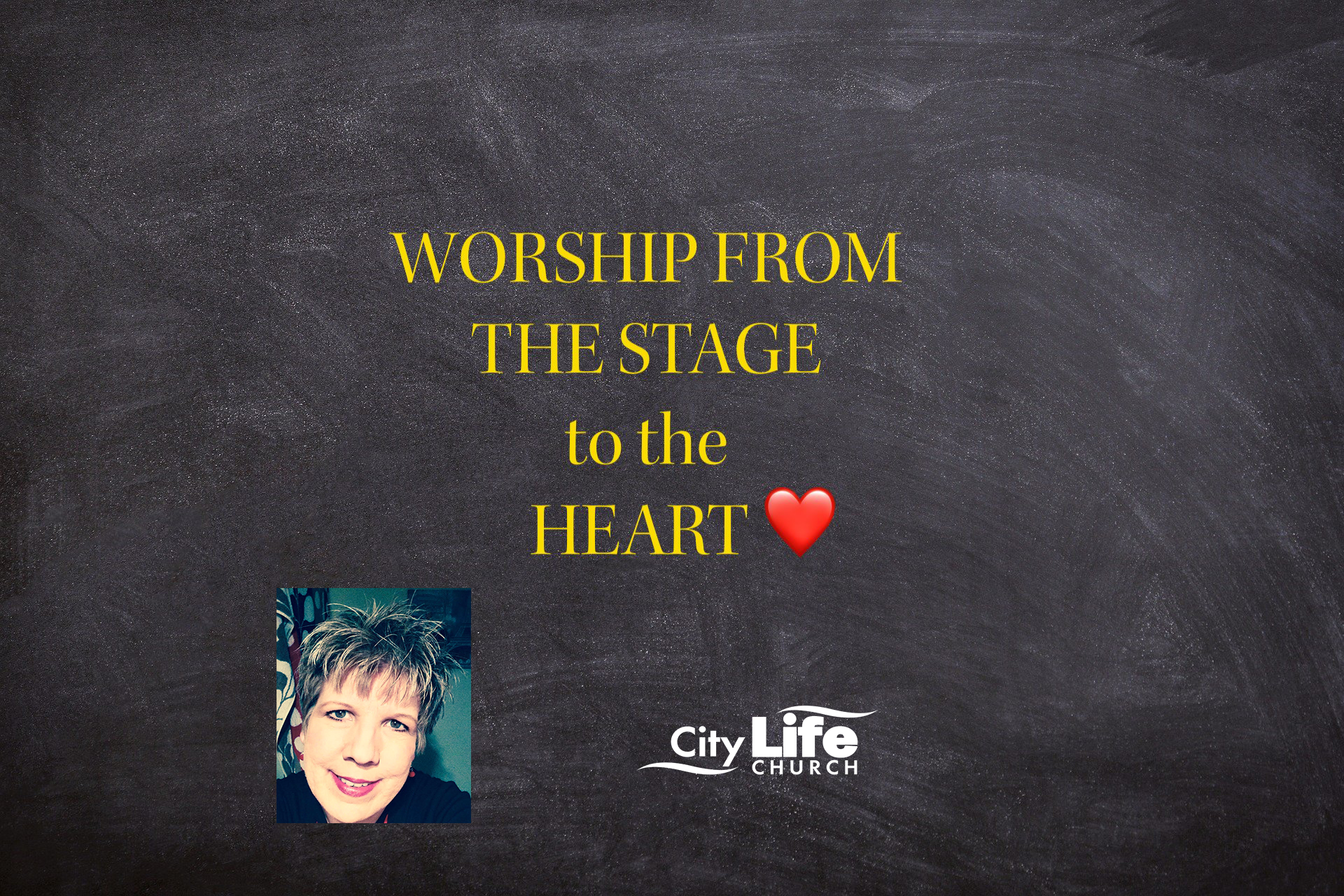 Worship from the Stage to the Heart